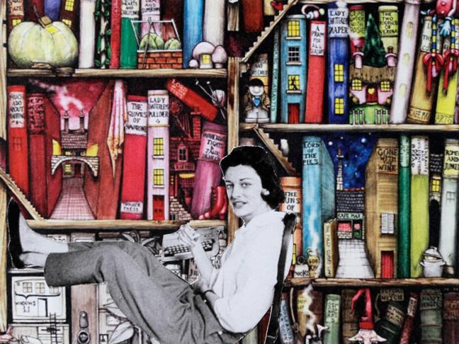 Anne nella libreria
