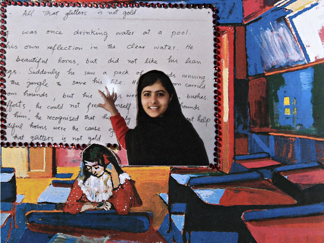 MALALA: All the glitter is not gold.